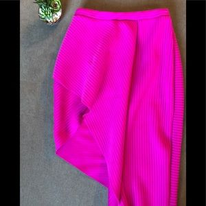 ASOS Hot Pink Asymmetric Skirt